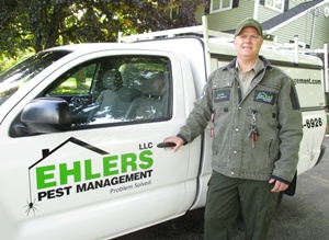 John Ehlers of Ehlers Pest Management, Milwaukee