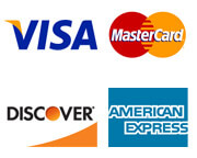 Ehlers Pest Management Accepts Visa, MasterCard, Discover, and American Express